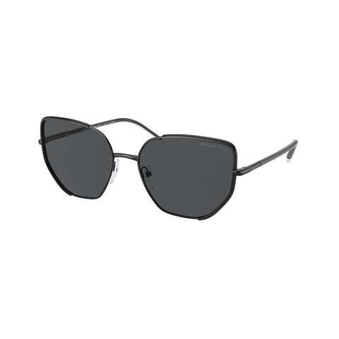 Prada PR 50WS 1AB5Z1 58 Black Woman Irregular Sunglasses