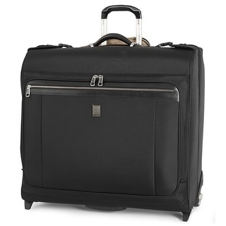 "Travelpro Platinum Magna 2 -Black 50"" Nylon Fabric Expandable Rolling Bag w/ Duraguard Coating"