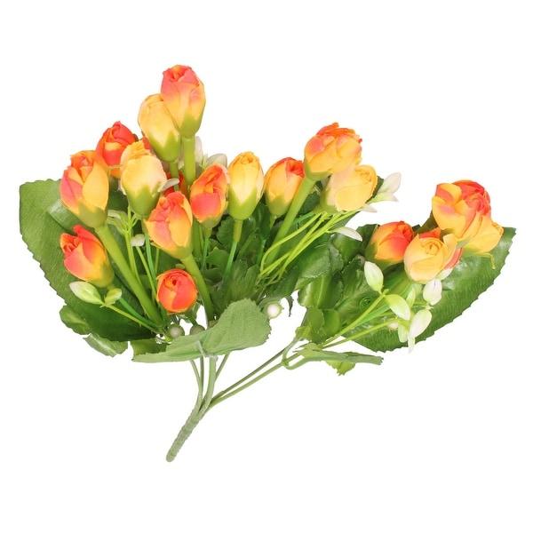 Unique Bargains Living Room Office Table Artificial Bouquet Flower