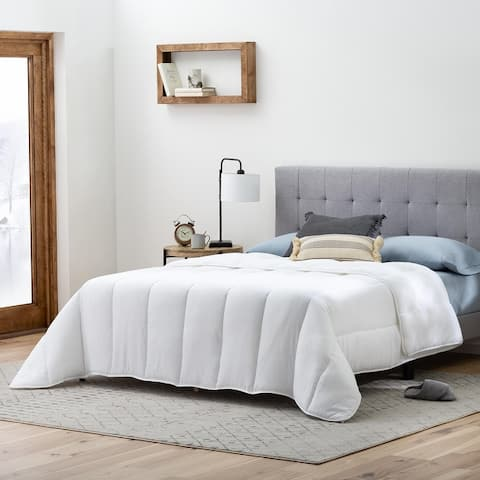 Brookside Down Alternative Microfiber Comforter with Multiple Warmth Options