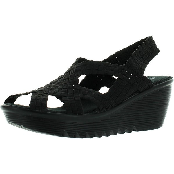 Bernie Mev Womens Contour Wedge Sandals