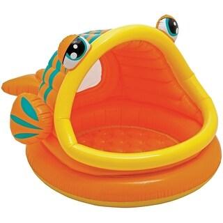 Intex 57109EP Lazy Fish Shade Baby Pool, 14 Gallon