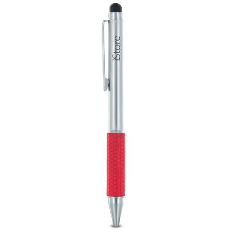iStore Stylus Pro Duo for iPads and Other Touchscreen Devices (Silver/Red)