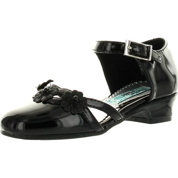 Rachel Girls Lil Miranda Mini Pumps Dress Shoes - Black