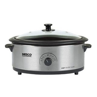 The Metal Ware Corp - 4816-25-30 - Nesco 6Qt Ss Roaster Cook Oven