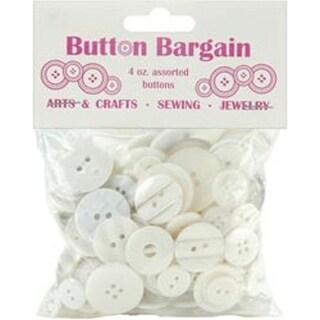 Whites - Button Bargain 4Oz