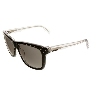 Diesel DL0136/S 27A Wayfarer Sunglasses - Black/Clear - 54-16-140