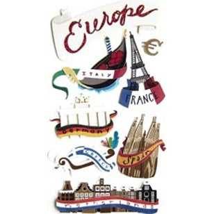 Europe - Jolee's Boutique Dimensional Stickers