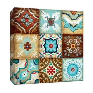 """PTM Images 9-146768  PTM Canvas Collection 12"""" x 12"""" - """"Nine Wishes"""" Giclee Patterns and Designs Art Print on Canvas"""