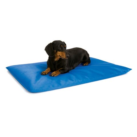 K&H Pet Products Cool Bed III Thermoregulating Pet Bed Blue