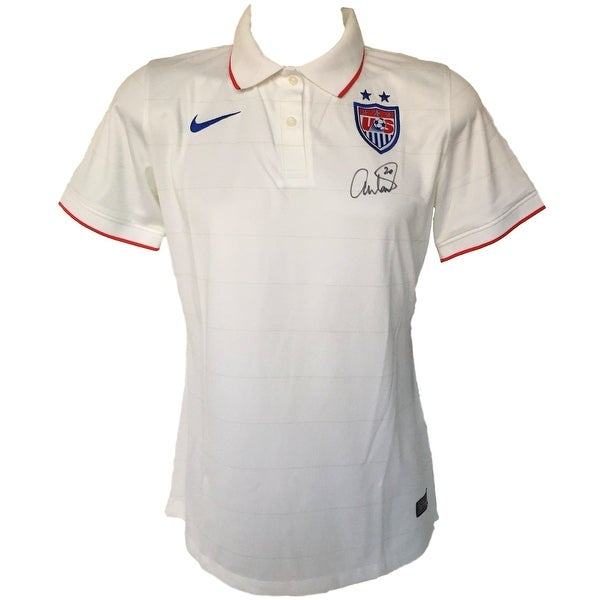 new product 7d3ea 8095a Abby Wambach Signed Authentic Team USA Soccer Jersey Large JSA
