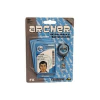 Archer Retractable ID Badge Holder With ISIS Employee Badges
