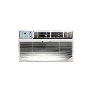 Keystone KSTAT12-1C 12,000 BTU 115V Through-the-Wall Air Conditioner with Follow Me LCD Remote Contr - White
