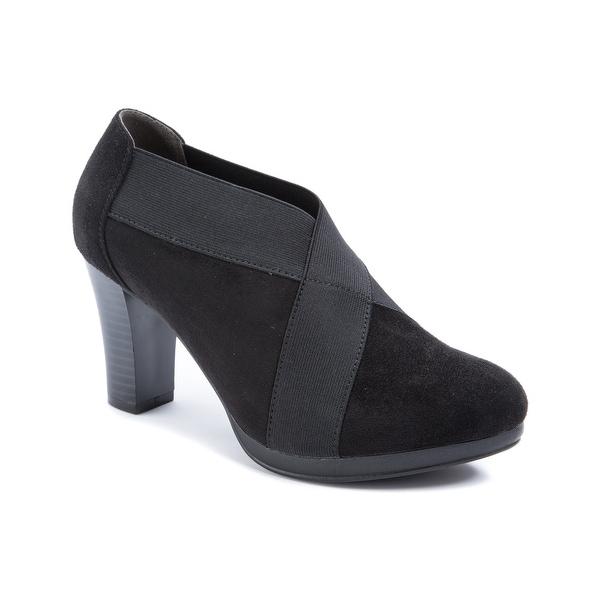 Andrew Geller KELL Women's Heels Black Suede