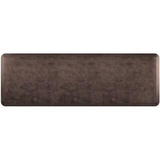 """WellnessMats Antique Linen Anti-Fatigue Mat, Antique Dark, 72"""" by 24"""""""