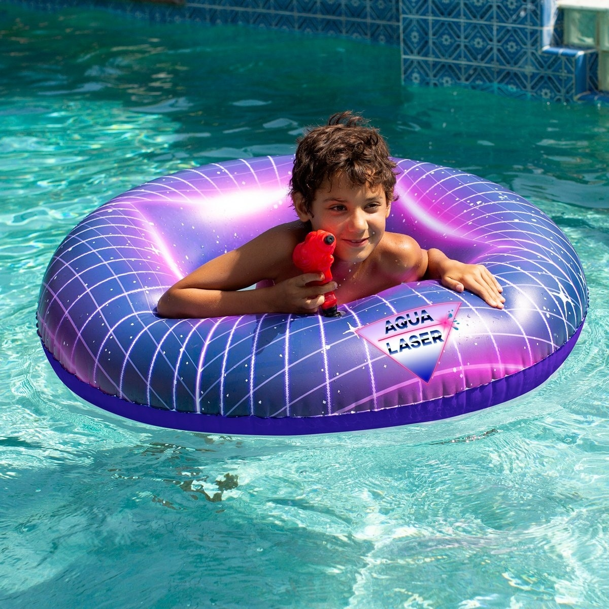 Aqua Laser Pool Tube Gun With Sound Effects Overstock 31568139