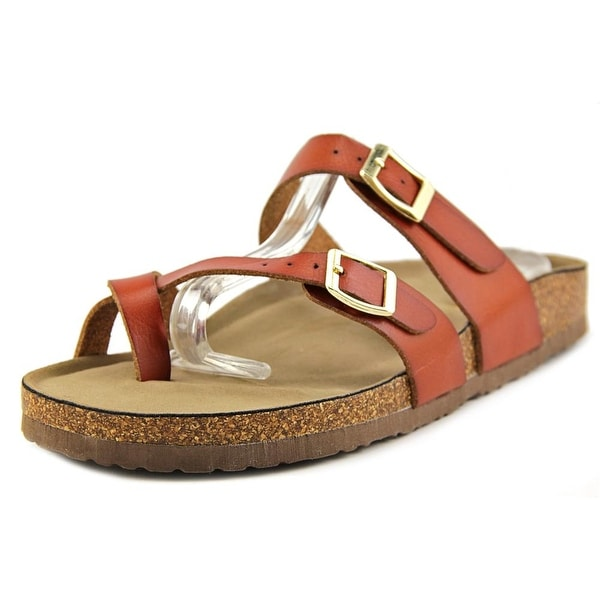 Madden Girl Bryceee Women Open Toe Synthetic Brown Slides Sandal
