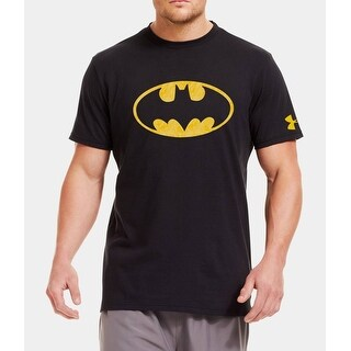 Under Armour Men's Alter Ego Patterned Batman T-Shirt Small Black 1249769