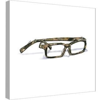 """PTM Images 9-98910  PTM Canvas Collection 12"""" x 12"""" - """"Glasses 1"""" Giclee Fashion Art Print on Canvas"""