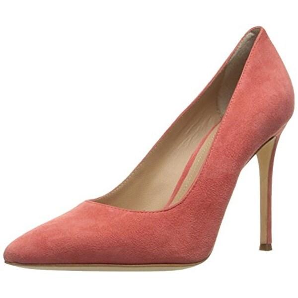 Pour La Victoire Womens Celeste Pumps Suede Heels