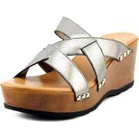 Callisto Syrah Women  Open Toe Synthetic  Wedge Sandal