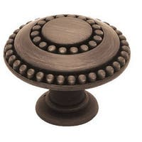 "Liberty Hardware PBF808L-VBR-U Double Beaded Cabinet Knob 1-3/8"", Venetian Bronze"