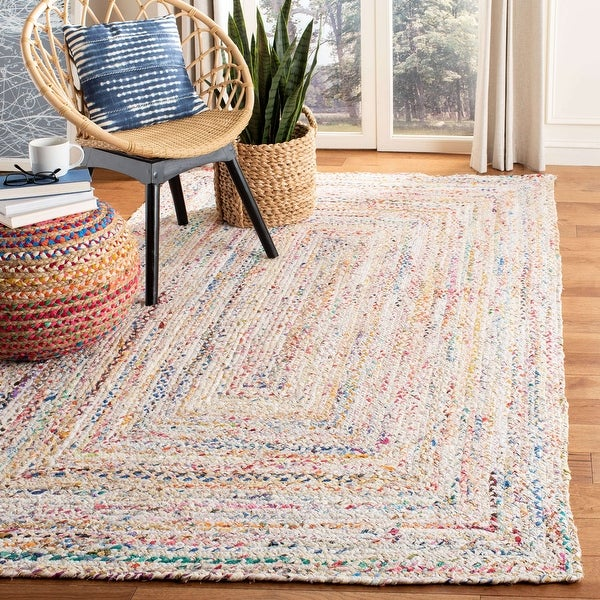 Safavieh Handmade Braided Georgine Country Cotton Rug