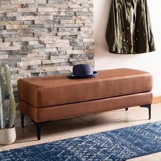 "Link to Safavieh Elise Rectangular Bench - 48"" x 18"" x 18"" - 48"" x 18"" x 18"" Similar Items in Living Room Furniture"