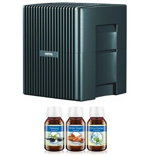 Venta LW25G Humidifier & Airwasher (Charcoal Gray) w/ Fragrance Combo Pack (Relaxing, Citrus & Winter Dream)