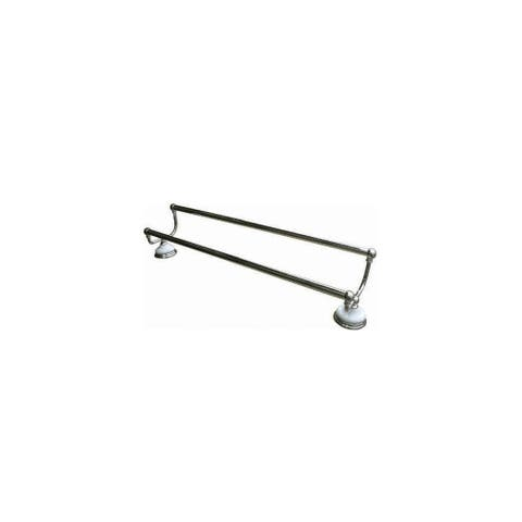 """Elements Of Design EBA1113C 24"""" Double Towel Bar from the Hot Springs Collection - Chrome"""
