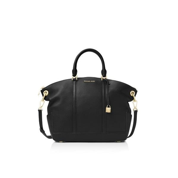 1a1182ba26 Shop Michael Kors Womens Beckett Satchel Handbag Pebbled Leather ...