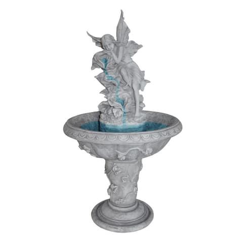 Design Toscano Pixie Fairy Sculptural Fountain