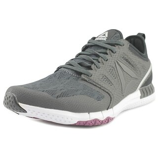 Reebok Zprint 3D Women Round Toe Synthetic Black Running Shoe