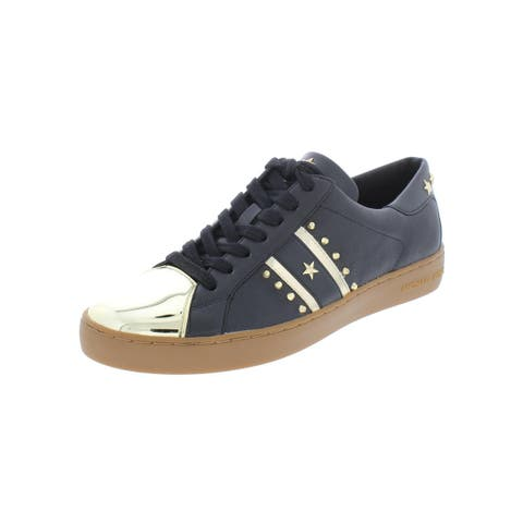3f8515ea32560 MICHAEL Michael Kors Womens Frankie Fashion Sneakers Leather Reflective