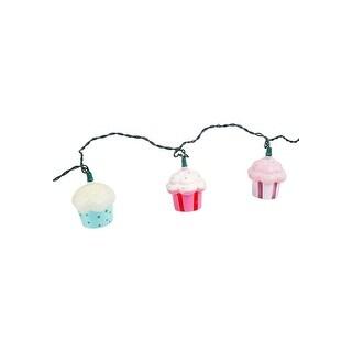 Plastic Cupcake 10 Piece String Light Set