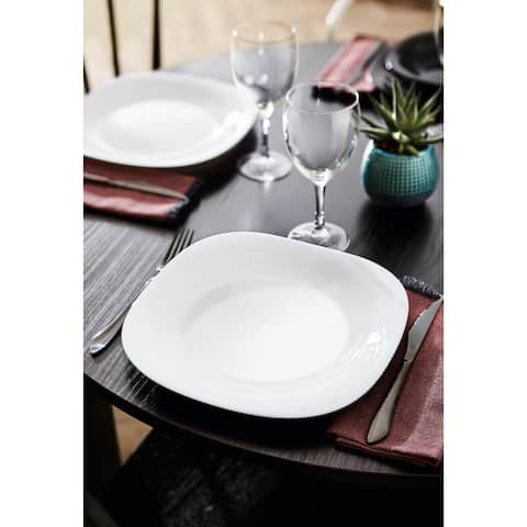 "Luminarc 10.5"" Carine Dinner Plate, Set of 6 - 6 Piece"