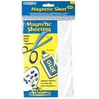 "Master Magnetics 07014 Magnetic Sheet 5""X 8"""