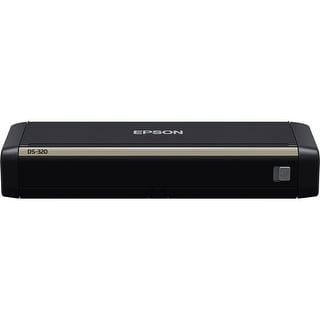 Epson DS-320 Portable Duplex Document Scanner DS-320 Sheetfed Scanner
