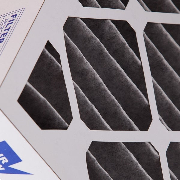 Nordic Pure 20x20x4 Furnace Air Filters MERV 10 Pleated 3 5//8 Carbon 2 Pack