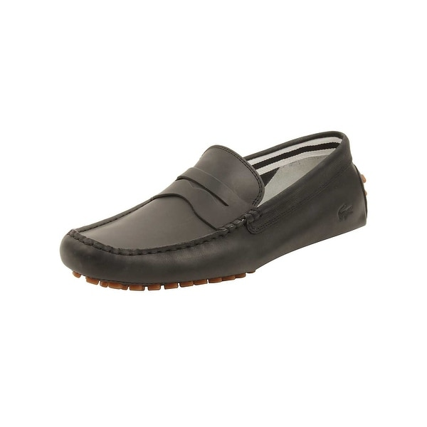 ceee8b403413a Shop Lacoste Mens Concours 216 Loafers in Black - Free Shipping ...