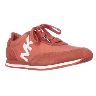 MICHAEL Michael Kors Womens Stanton Trainer Leather Low Top Lace Up Fashion S...