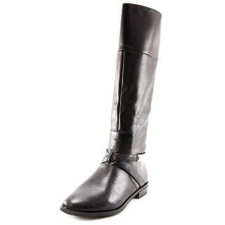 Alfani Egila Women Round Toe Leather Knee High Boot