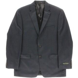 Lauren Ralph Lauren Mens Glen Plaid Notch Collar Sportcoat