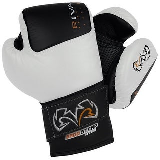 Rival Boxing RB50 Intelli-Shock Compact Bag Gloves - Black/White