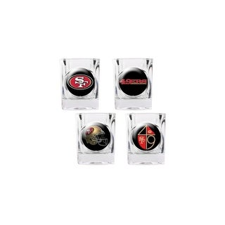 Great American Products San Francisco 49Ers Shot Glass Set 4pc Collectors Shot Glass Set