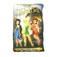 Disney Fairies Tinkerbell Welcome to Pixie Hollow Storybook Pillow