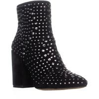 Vince Camuto Drista Ankle Boots, Black True Suede - 5.5 us