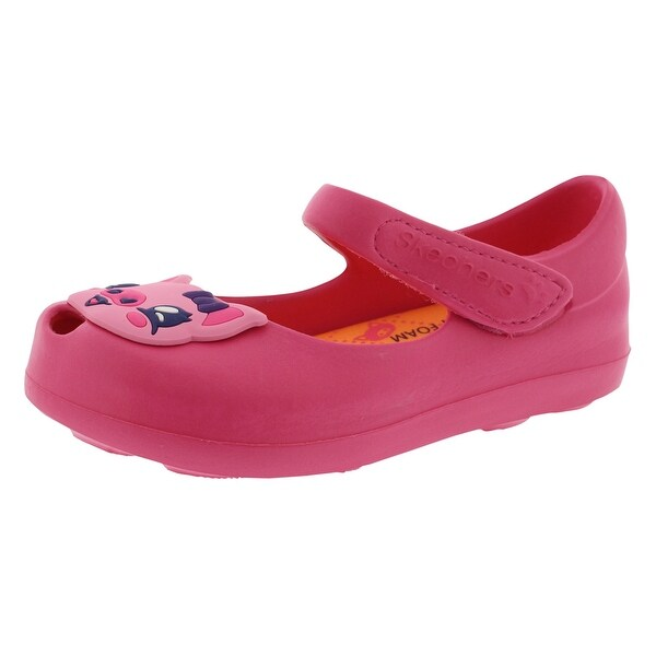 shoes skechers casual maryjane animal infant toddler baby