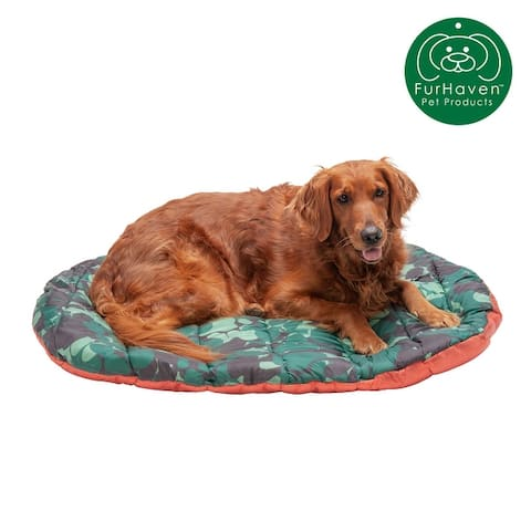 FurHaven Trail Pup Packable Stuff Sack Travel Pillow Dog Bed