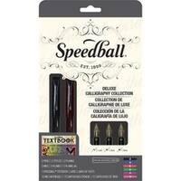 Speedball Calligraphy Deluxe Fountain Pen Set
